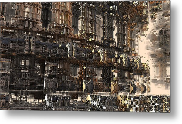 Rise Of The Machine Metal Print