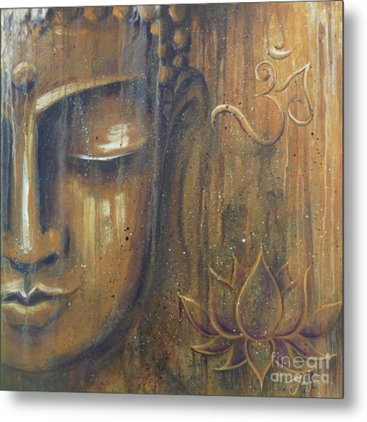 Rising Into Enlightenment Metal Print by Gayle Utter