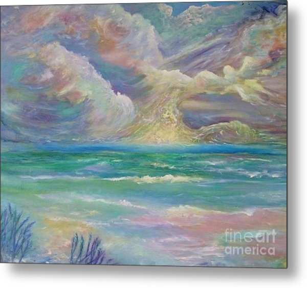 Rising Sea Metal Print
