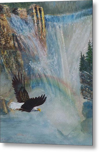Rising Up With Eagle's Wings 2 Metal Print