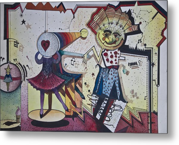 Rite Of Spring Metal Print by Larry Butterworth