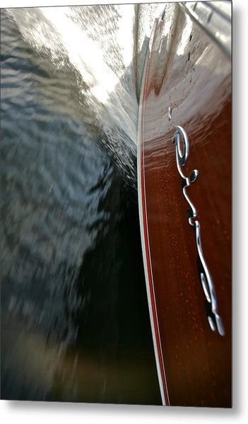 Riva Wake Special Prices Metal Print