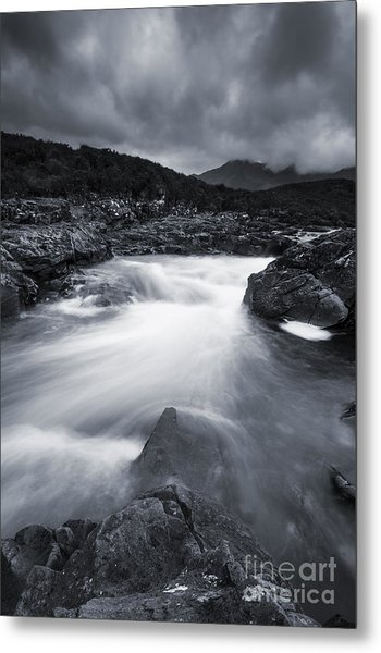 River At Sligachan Metal Print