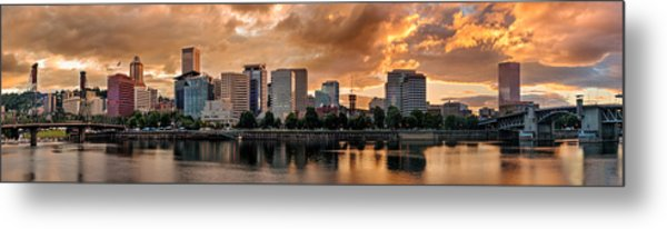 River City Metal Print