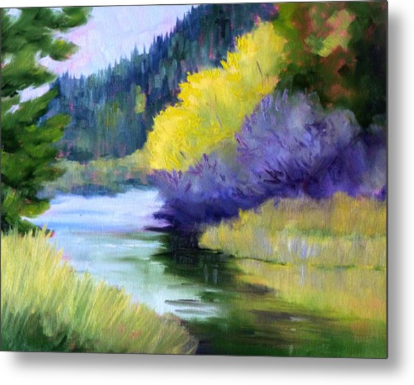 River Color Metal Print