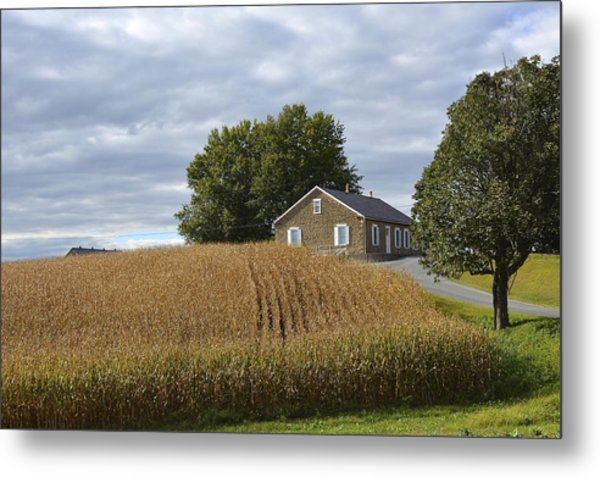 River Corner Mennonite Church Metal Print