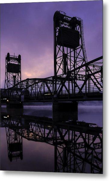 River Crossing No. 2 Metal Print