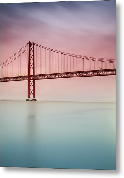 River Hues Metal Print by Landscape Photography