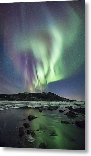 River Meet The Sea Metal Print by Frank Olsen