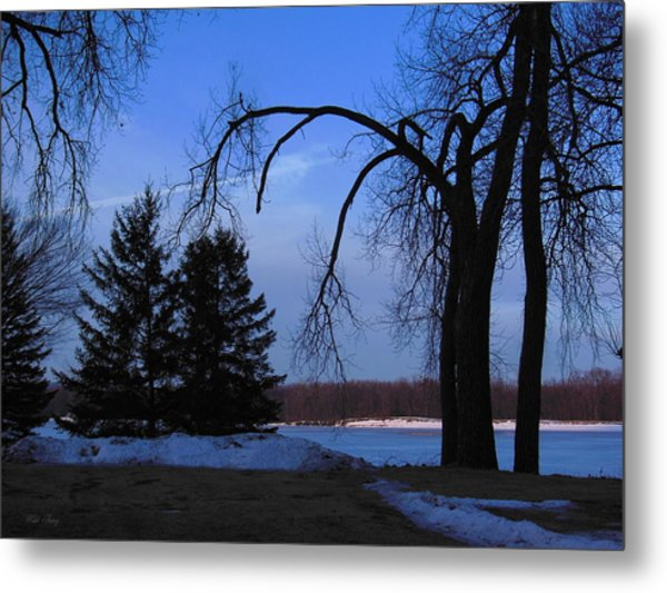 River Morning Metal Print