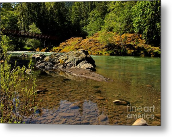 River Of Love  Metal Print by Tim Rice