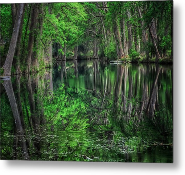 River Of Reflections Metal Print
