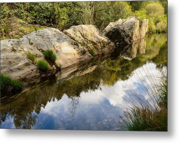 River Reflections IIi Metal Print