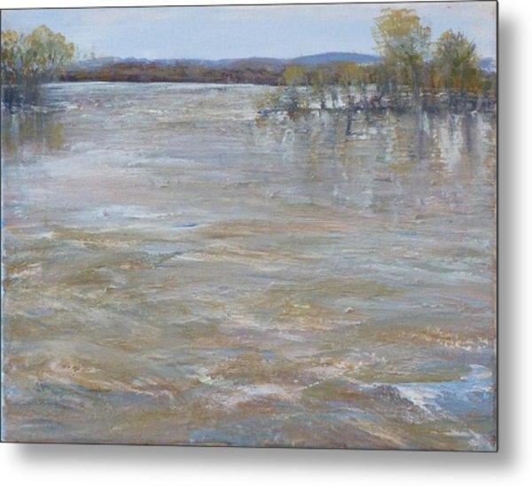 River Rising Metal Print