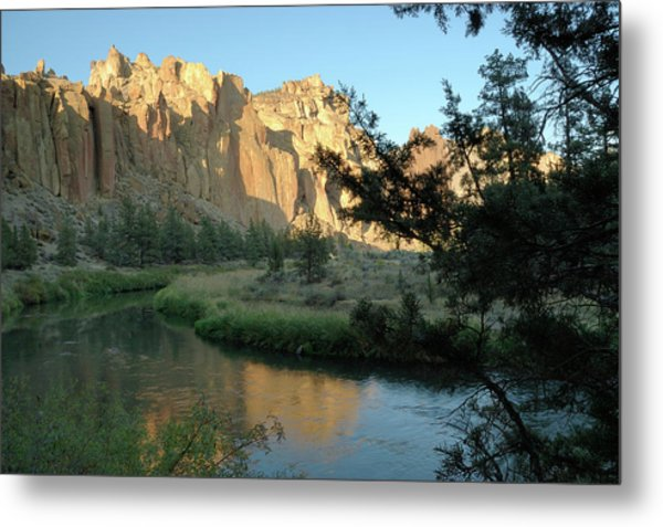 River Rocks Metal Print