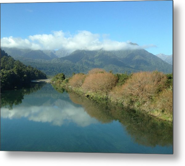 River Metal Print by Ron Torborg