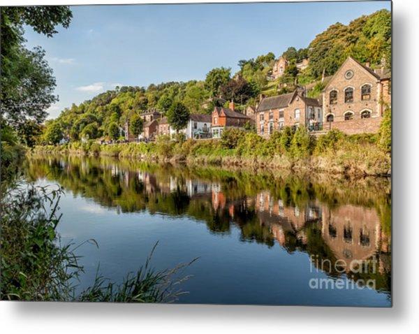 River Severn Ironbridge Metal Print