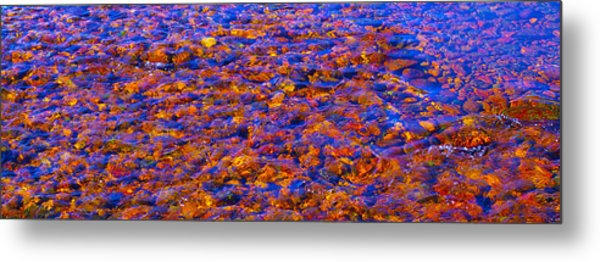 River Song Abstract Metal Print