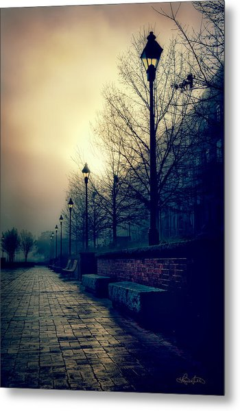 River Street Solitude Metal Print