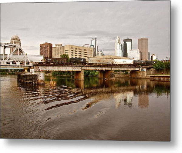 River Structures13 Metal Print