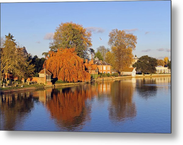 River Thames At Marlow Metal Print