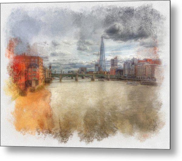 River Thames Metal Print by Rick Lloyd