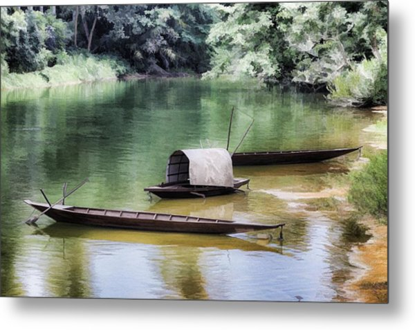 River Tribe Metal Print