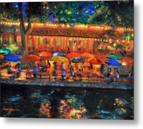Da190 River Walk By Daniel Adams Metal Print