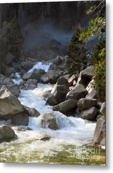 Rivers From The Mist Metal Print