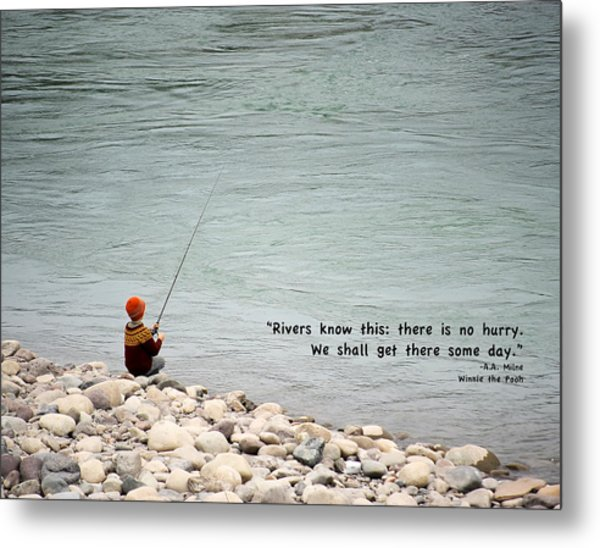 Metal Print featuring the photograph Rivers Know This by Mary Lee Dereske
