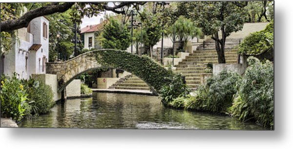 Riverwalk Charm Metal Print