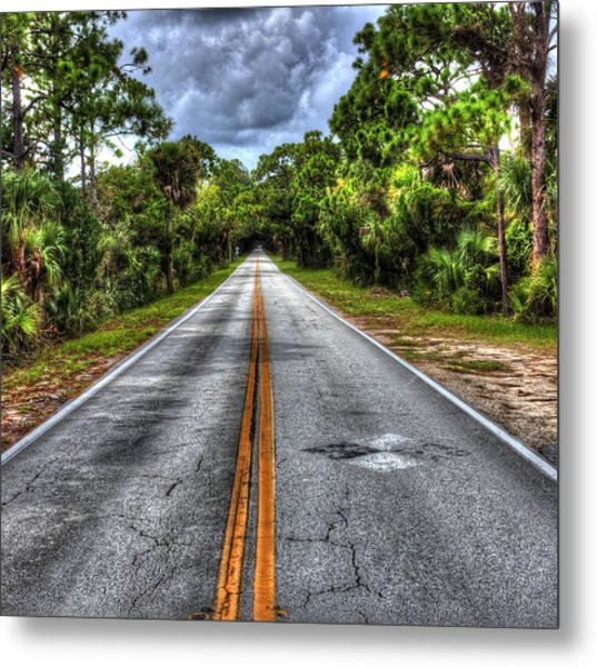 Road To No Where Metal Print