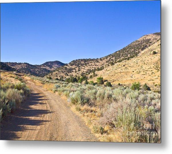 Road To Nowhere - Storey Nevada Metal Print