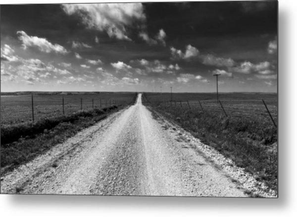 Road To Texaco Hill Metal Print