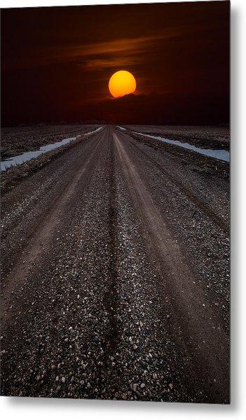 Road To The Sun Metal Print