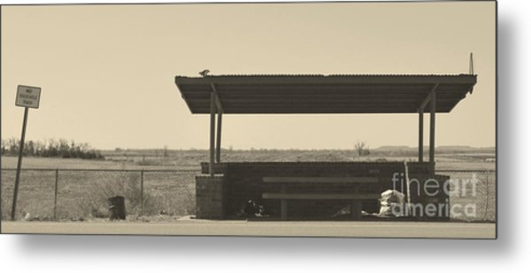 Roadside Rest Metal Print