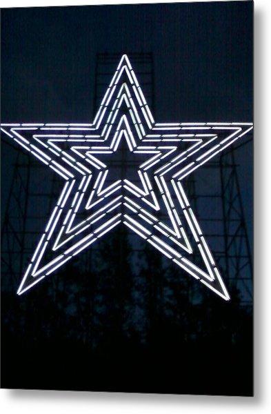 Roanoke Star By Angelia Clay Metal Print