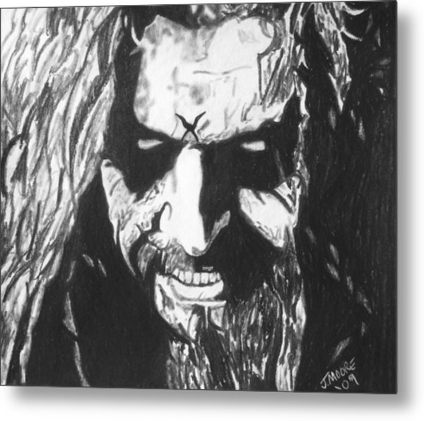 Rob Zombie Metal Print by Jeremy Moore