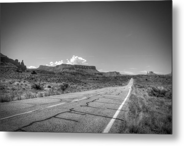 Robert Melvin - Fine Art Photography - Highway 128 Metal Print