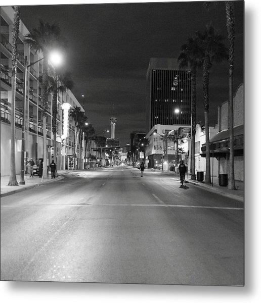 Robert Melvin - Fine Art Photography - Sin City - No Homeless Allowed Metal Print