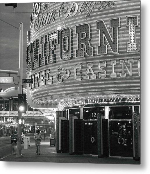 Robert Melvin - Fine Art Photography - Sin City - The Californian Metal Print