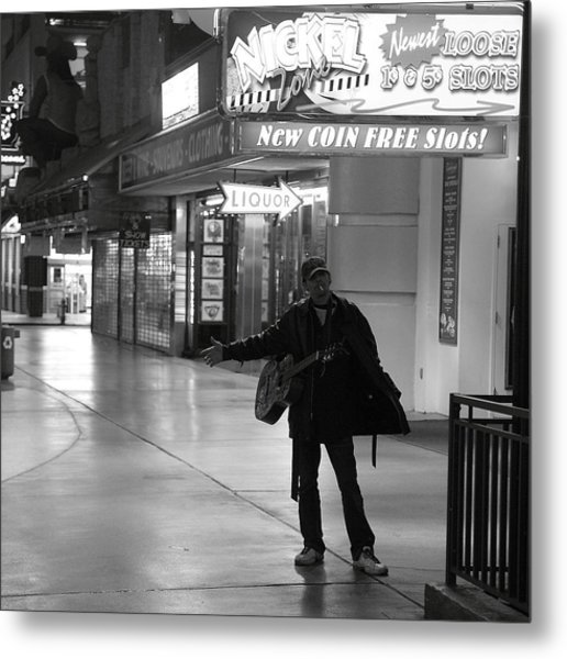 Robert Melvin - Fine Art Photography - Sin City - Where You From Metal Print
