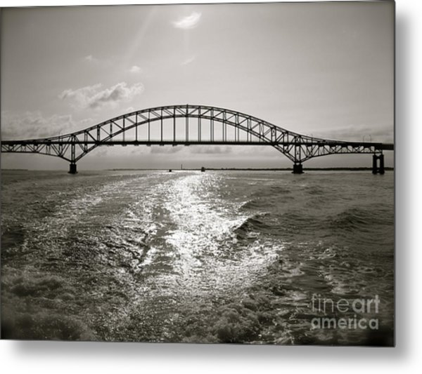 Robert Moses Bridge Metal Print