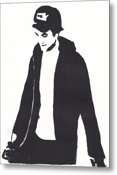Robert Pattinson 111 Metal Print