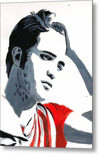 Robert Pattinson 77 Metal Print