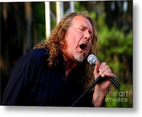 Robert Plant 2 Metal Print