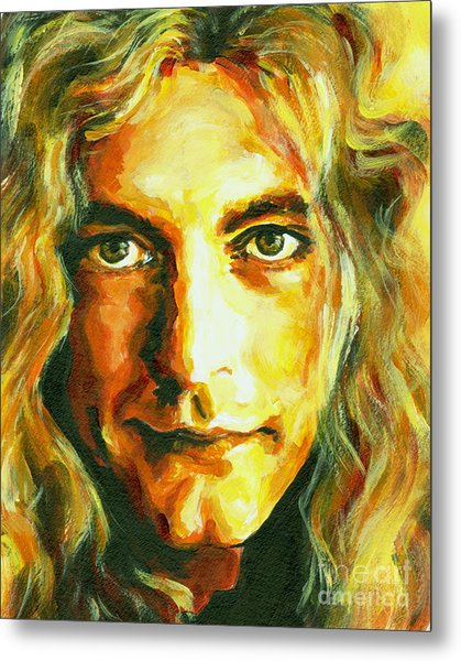 Robert Plant. The Enchanter Metal Print
