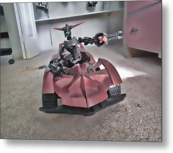 Robo Car Metal Print by Robert Rhoads