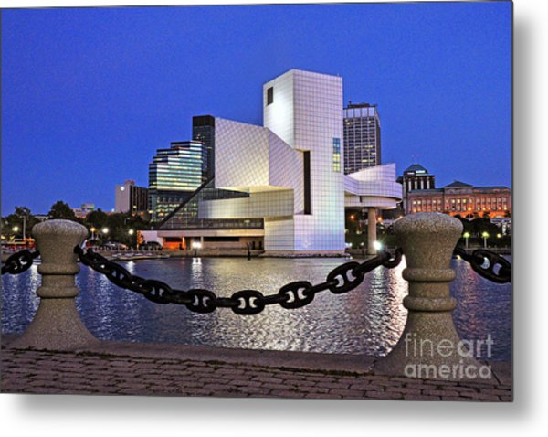 Rock And Roll Hall Of Fame - Cleveland Ohio - 1 Metal Print