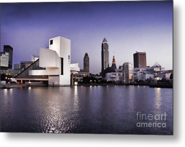 Rock And Roll Hall Of Fame - Cleveland Ohio - 2 Metal Print